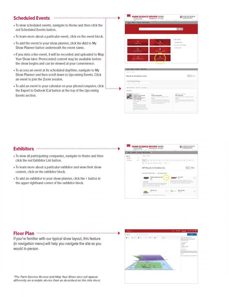 Navigating FSR Online